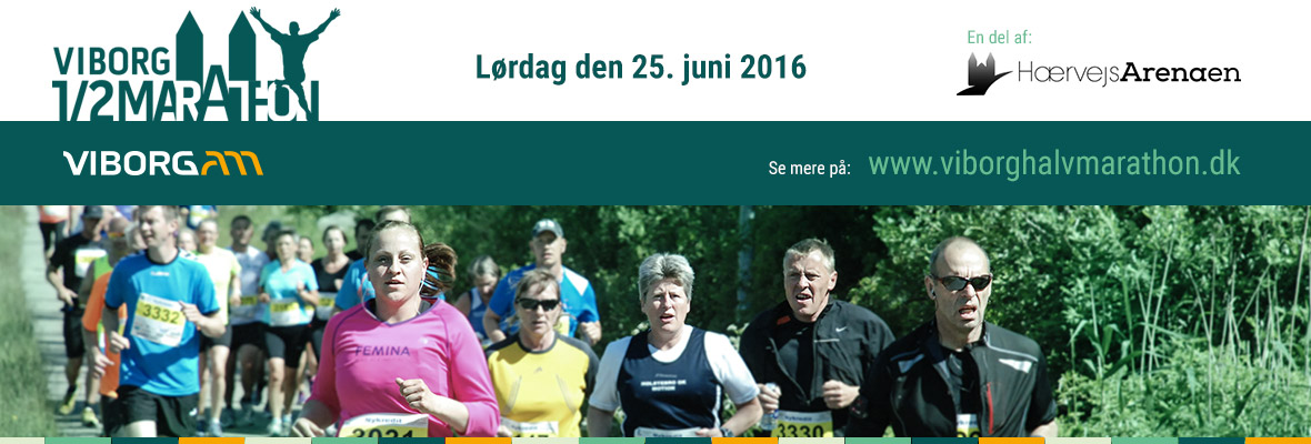Viborg Halvmarathon 2016